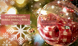 Copy of 10 of Your Favorite Holiday Dishes.... With A Spin