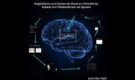 Copy of Möglichkeiten und Grenzen der Musik als Heilmittel bei Aphasie zum Wiedererlernen von Sprache