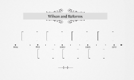 Wilson and Reforms