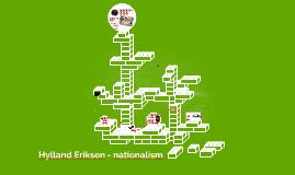 Hylland Eriksen - nationalism