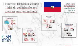 Panorama Histórico do Haiti: da colonização aos desafios con