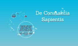 Copy of De Constantia Sapientis