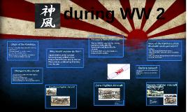 Kamikaze during WW 2