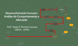 Desenvolvimento humano, análise do comportamento e educação