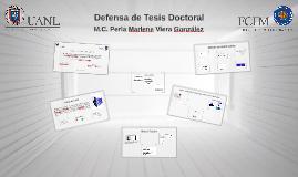 Defensa de Tesis Doctoral