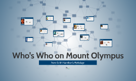 Who's Who on Mount Olympus