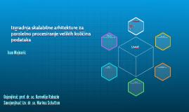 Izgradnja skalabilne arhitekture za paralelno procesiranje v