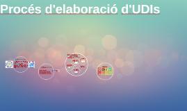 Procés d'elaboració d'UDIs