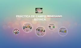 PRACTICA DE CAMPO JENESANO