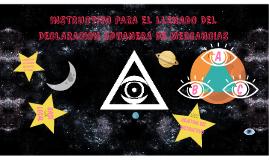 INSTRUCTIVO PARA EL LLENADO DEL DECLARACION ADUANERA DE MERC