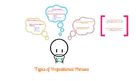 Adjectival Prep Phrases vs. Adverbial Prep Phrases