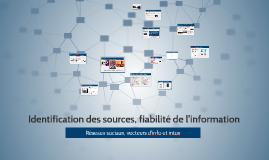 Copy of Identification des sources, fiabilité de l'information par IMartin et JCBouniol
