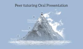 Peer tutoring Oral Presentation
