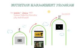 NUTRITION MANAGEMENT PROGRAM