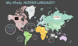 Copy of Why study...MODERN LANGUAGES?