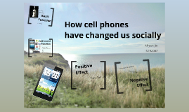 cellphones have they changed us socially How cell phones have changed our lives as cell phones evolve they have more and more of an impact on cell phones in the united states of america.