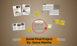 Serial Final Project