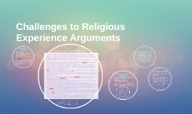Challenges to Religious Experience Arguments