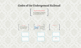 Codes of the Under Ground Railroad