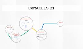 CertACLES B1