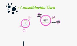Consolidación Ósea