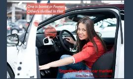 Car market: divide and rule