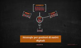 Strategie per genitori di nativi digitali