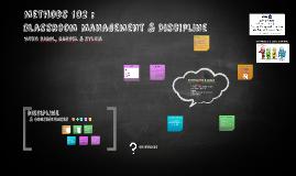 Copy of Classroom Management & Discipline