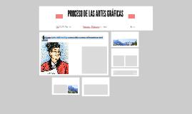 PROCESO DE LAS ARTES GRÁFICAS
