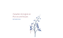 Law- Immigration Policies and Issues