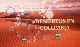 DESIERTOS EN COLOMBIA