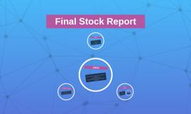 Final Stock Report