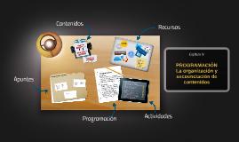 La programación: La organización y secuenciación de contenidos