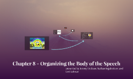 Chapter 8: Organizing the Body of the Speech