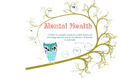 Copy of Mental Health