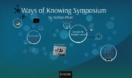 Ways of Knowing Symposium