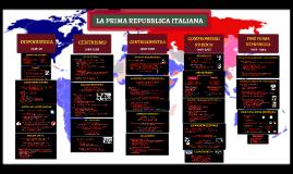 La Prima Repubblica italiana