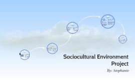 Sociocultural Environment Project