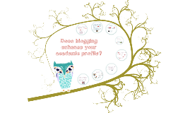 Blogging and your academic profile