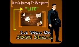 Copy of Rizal's Journey to Martyrdom
