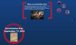 Constitution Day 2013