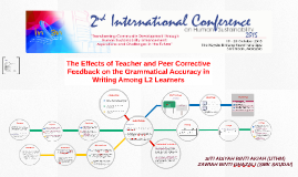 The Effects of Teacher and Peer Corrective Feedback on the G