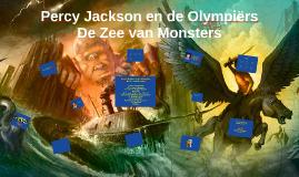 Percy Jackson, De Zee van Monsters