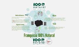 Copy of Franquicia 100% Natural