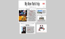 My New York trip