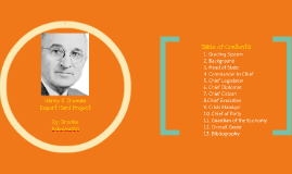 Copy of Harry S. Truman Report Card Project