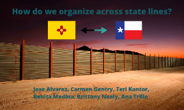 ORGANIZING ACROSS STATE LINES