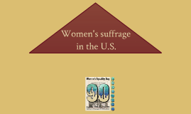 women's suffrage in the U.S.
