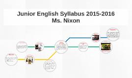 Copy of English Syllabus 2015-2016