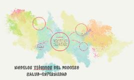 MODELOS TEòRICOS DEl PROCESO  SALUD-ENFERMEDAD